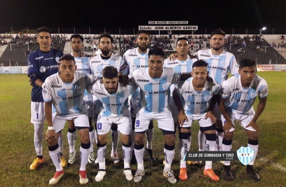 """El equipo """"albo"""" que se presentó en Chaco. Gentileza: @gytoficial"""