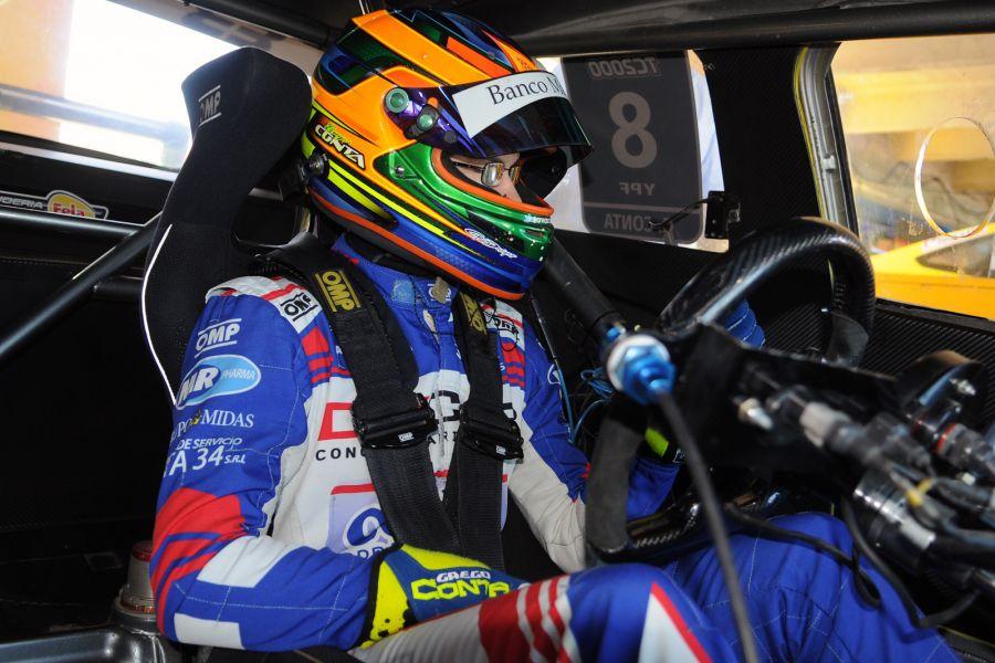 El piloto metanense Gregorio Conta, resultó quinto en el Sprint sabatino y noveno en la final del domingo en Paraná.