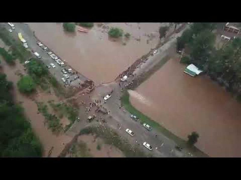 Las inundaciones en Anta fueron en octubre pasado.