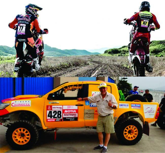 Los hermanos Kevin y Luciano Benavides en motos y Ramón Núñez en autos, los representantes salteños en el Dakar 2019