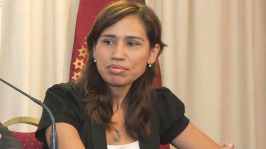 Carina Iradis, secretaria de Justicia y Métodos Participativos para la Resolución de Conflictos.