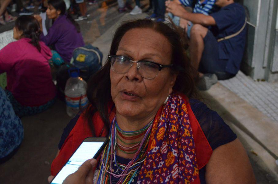 Octorina Zamora, sostuvo que en asamblea evalúan la posibilidad de encadenarse, como endurecimiento al reclamo hacia el Ministerio de Educación.