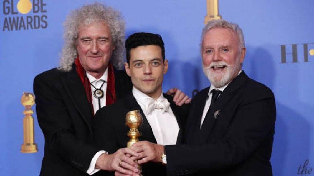 La historia de Freddie Mercury fue galardonada como la mejor película dramática en los premios Golden Globes.
