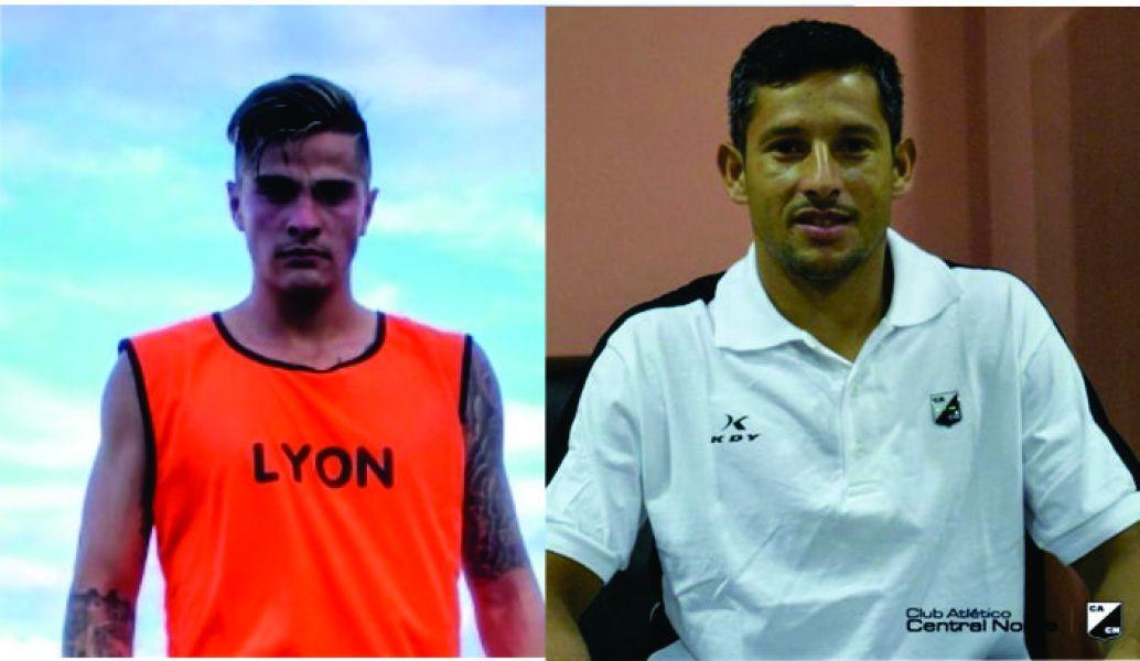 Abel Argañaraz (JA) y Diego Núñez (CN)