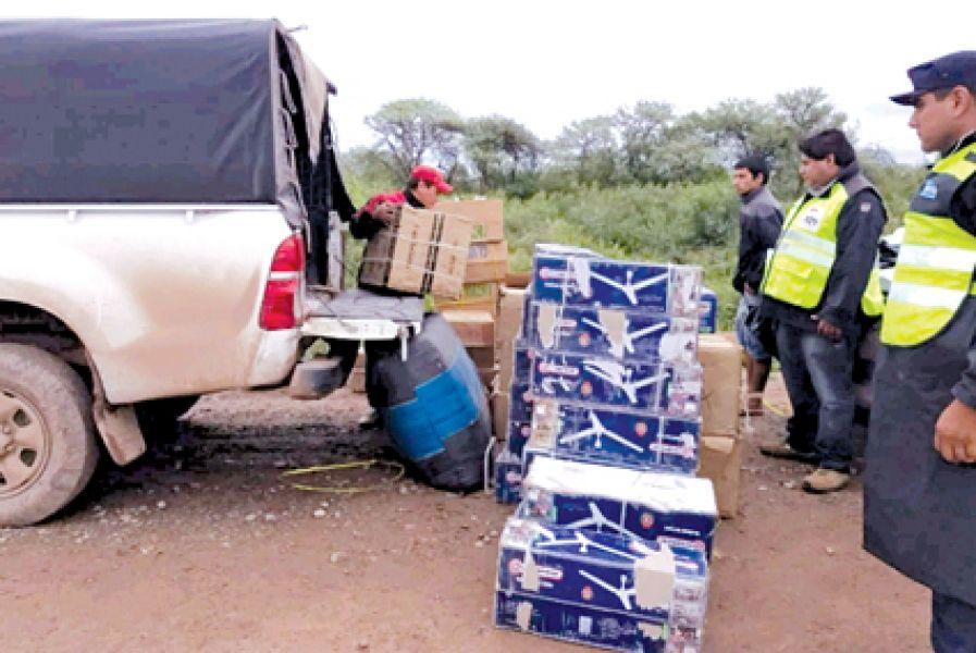 En el operativo de control policial se secuestró en Tucumán sobre todo electrodomésticos de dudosa procedencia.