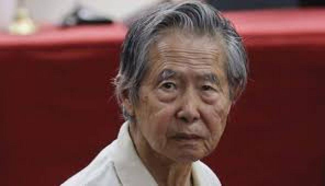 Señalan que Alberto Fujimori trata de fingir sobre su mal estado de salud para evadir la cárcel.