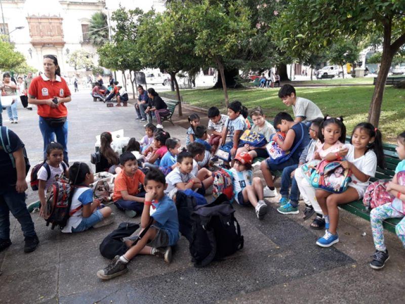 Los niños tienen propuestas para distintas actividades en vacaciones de la Subsecretaría de Deportes y Recreación.