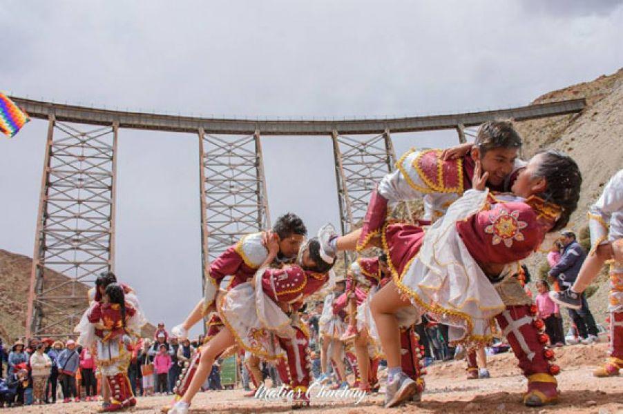 """""""El carnaval más alto del mundo"""" en su tercera edición, tendrá lugar el 23 de febrero próximo. (Foto Matías Chuchuy)."""