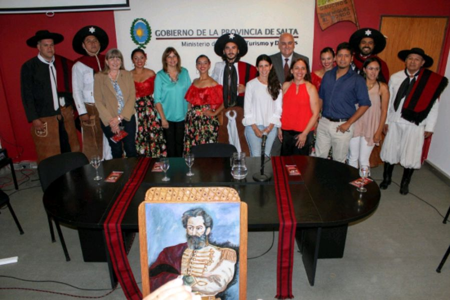 Los municipios de General Güemes, El Bordo y Campo Santo participan de los homenajes por el natalicio del héroe gaucho.