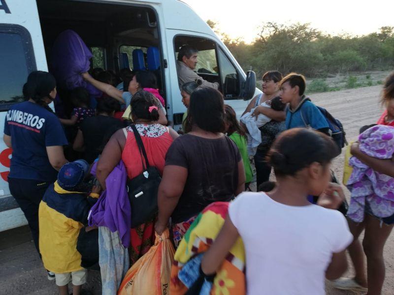 """""""Pasó el pico e inicia el descenso del Pilcomayo"""", dijo Ruíz de los Llanos."""
