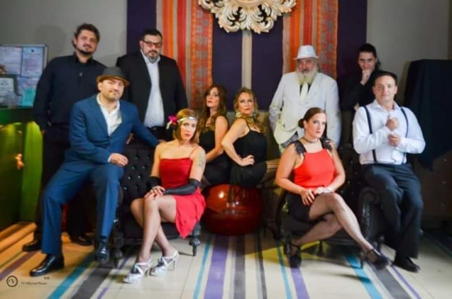 """""""Guapas y Compadritos"""", espectáculo que el grupo artístico salteño """"La Orquestonga"""", llevará de gira provincial por Salta y Jujuy."""