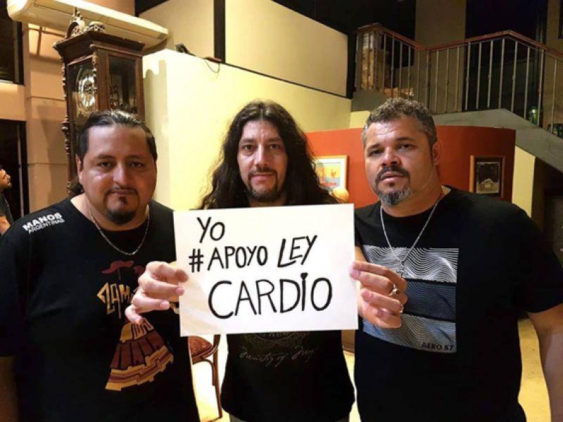 """Los Nombradores del Alba, se suman al movimiento de la """"Ley Cardio"""", a través de la página en facebook """"Sonqoy-Cardiopatías congénitas Salta""""."""