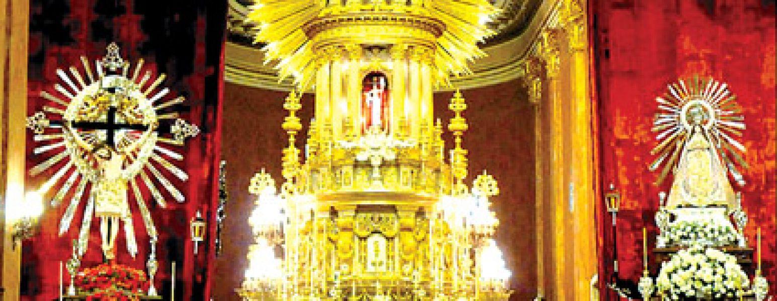 Se realizarán misas desde las 7 hasta las 20.30.