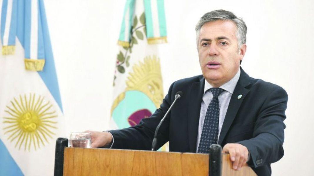 Alfredo Cornejo, gobernador de Mendoza pide internas en Córdoba.