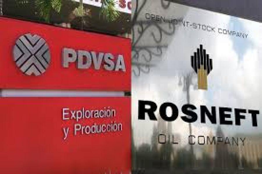Rosneft aumentó su participación en empresas conjuntas con PDVSA y prestó aún más dinero.