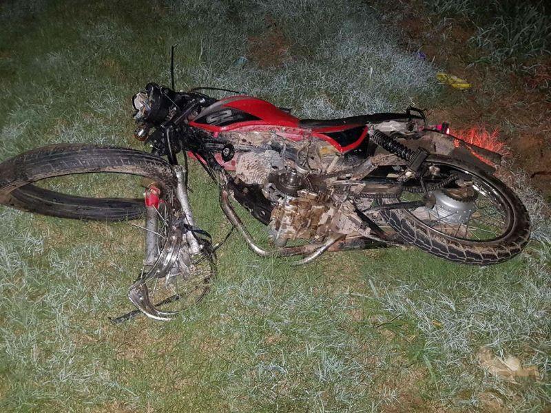 Un motociclista seconvirtió así en la víctima 43 de los accidentes viales, en lo que va del año.