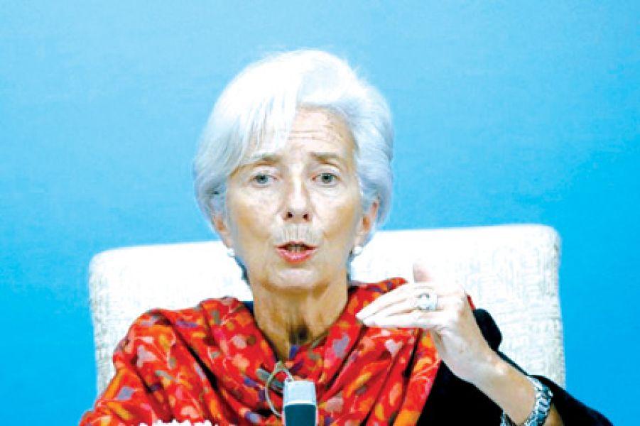 """Christine Lagarde cara visible del FMI, critíca el """"abuso"""" en el sistema del Monotributo."""