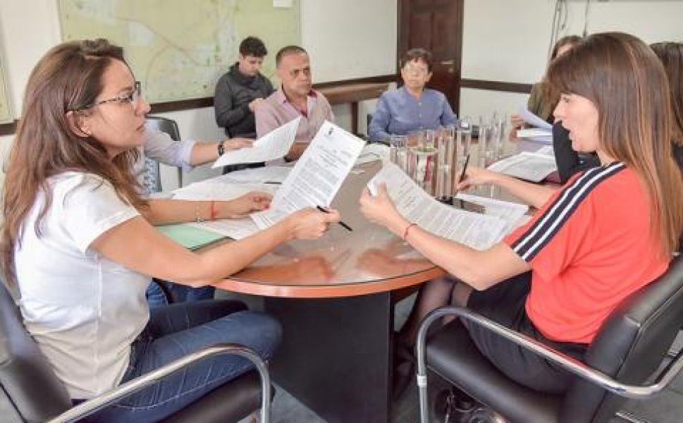 Reunión de Legislación  General del Concejo Deliberante.