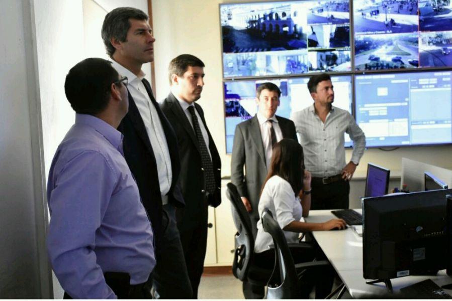 El jefe de Gabinete Fernando Yarade concurrió ayer a la coordinación del SE 911.