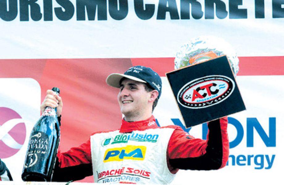 """El salteño Esteban Cístola, irá a San Luis en busca de puntos """"gordos"""" para continuar al frente de las posiciones en el TC Pista."""