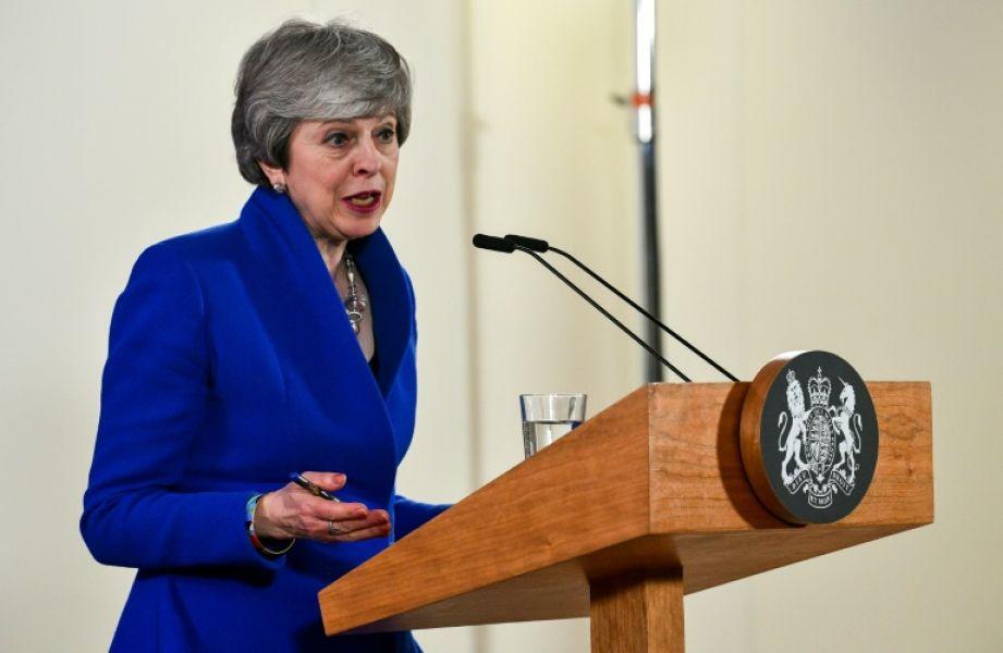 Teresa May. Casi tres años después de que los británicos votaran a favor de salir de la UE, Reino Unido sigue buscando la puerta de salida.
