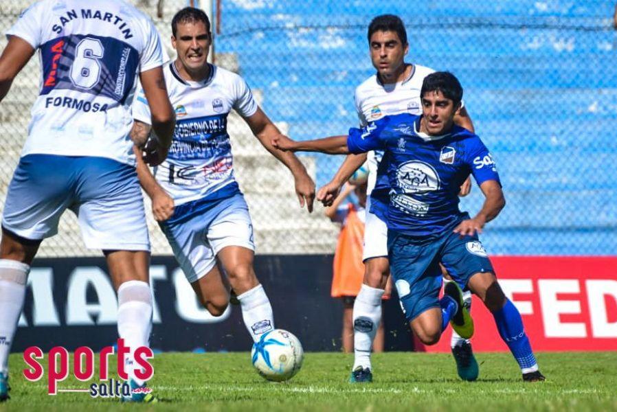 Ricardo Gómez, volante de Juventud Antoniana. Foto: Sports Salta.