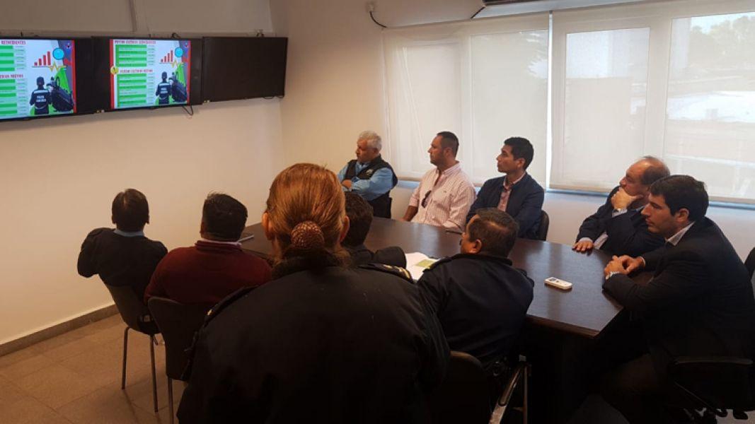 En el encuentro abordaron el estudio de los puntos de mayor ocurrencia de accidentes de tránsito.