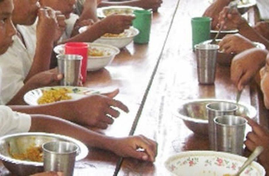 Así surge de las informaciones que se dieron a las escuelas con comedores.