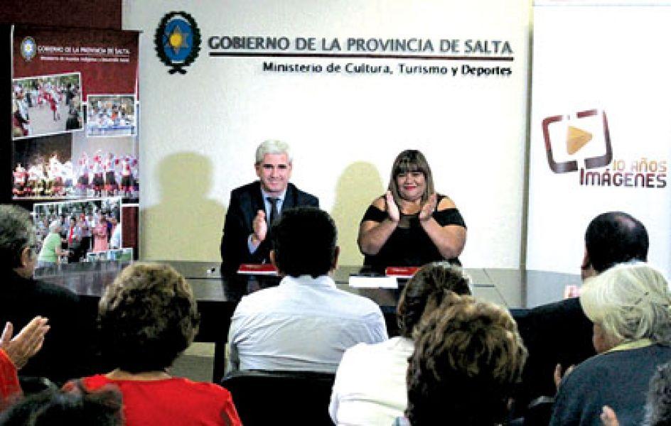 Los ministros Lavallén y Cruz convocaron a registrar en formato audiovisual, historias de vida que reflejen el contexto de los protagonistas.