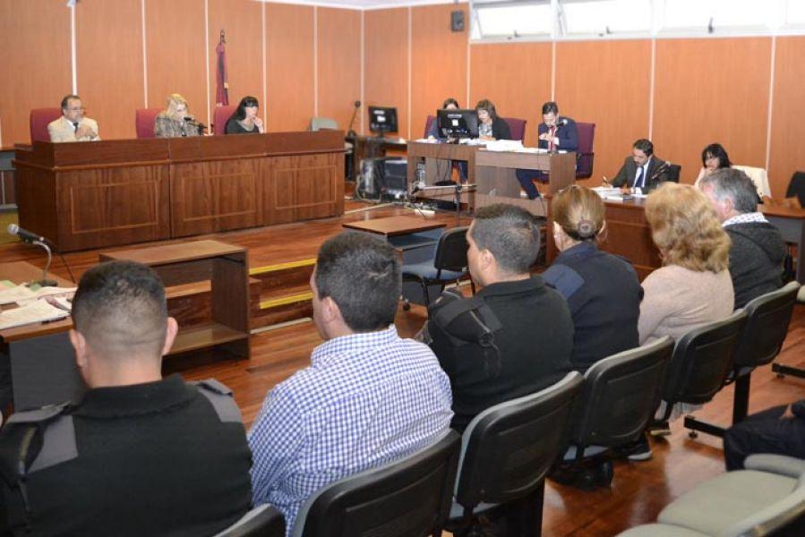 Cuarta jornada de juicio en contra de Santiago Zambrani y sus padres.