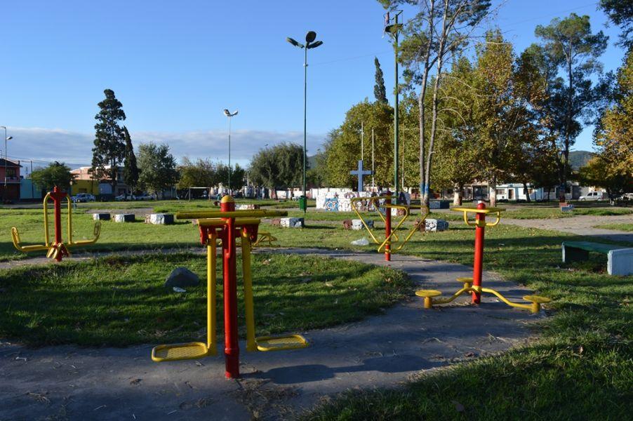 Plaza de Bº Ceferino incluida en el plan de recupero.