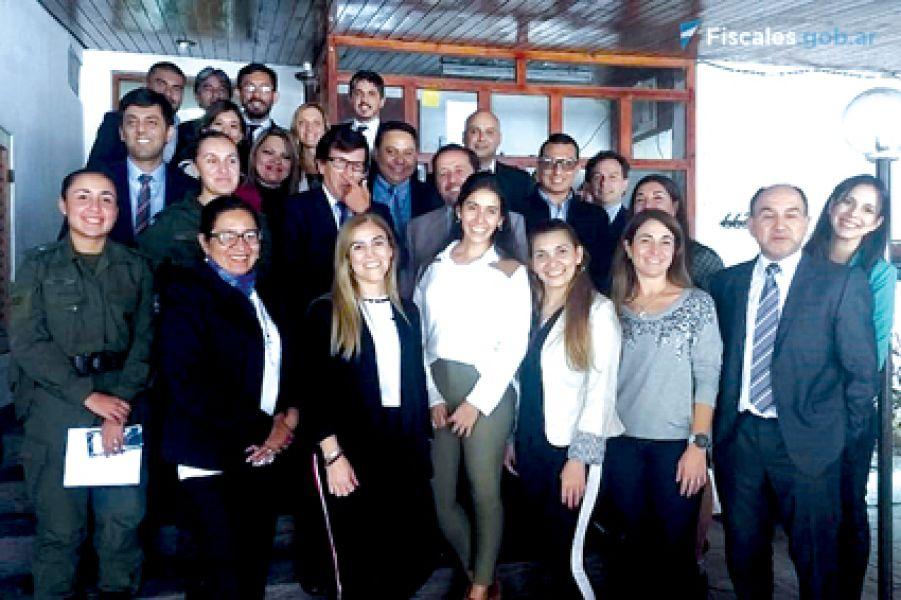 Reunión de funcionarios de ministerios públicos de Argentina, Chile y Bolivia, se reunieron en Orán.