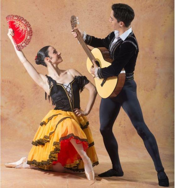 La presentación del ballet será este domingo a partir de las 20.
