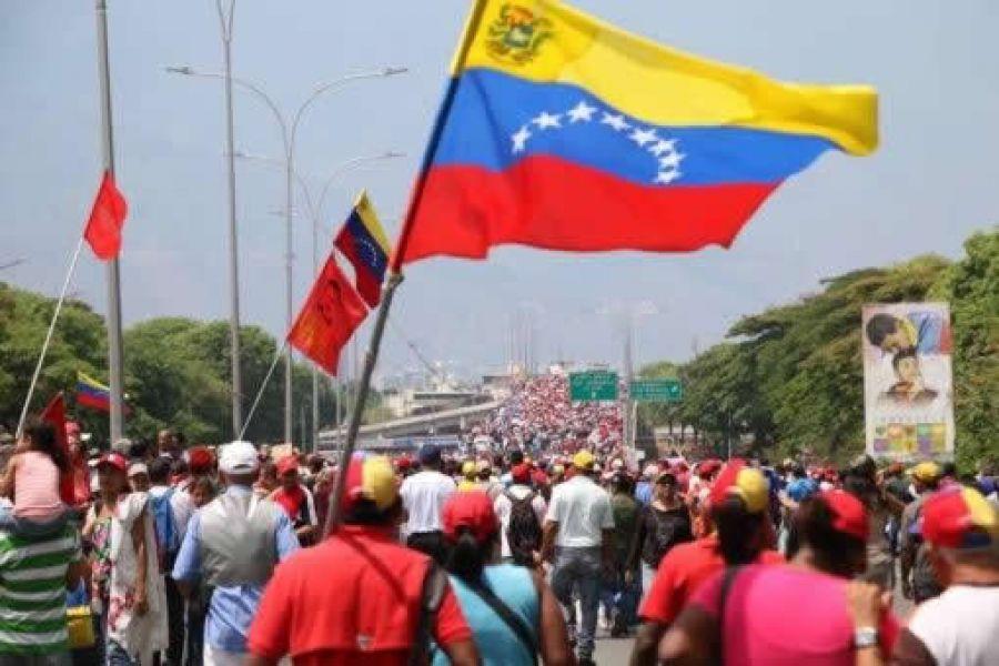 """""""La justicia ya los está buscando"""" dijo Nicolás Maduro el Día del Trabajo refiriendose los responsables del intento por derrocarlo."""