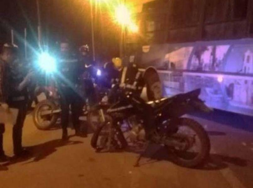 El trágico accidente se produjo entre una motocicleta y un colectivo interurbano de Tartagal.