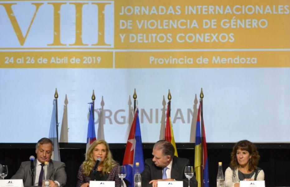 Salta sobresalió en las jornadas realizadas en Mendoza por los resultados de un programa de tratamiento al agresor.