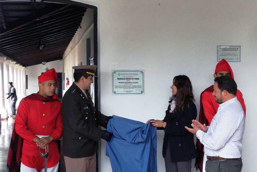 El acto de recordación a Machacha Guemes hermana del héroe gaucho, se cumplió en el INTA Cerrillos.