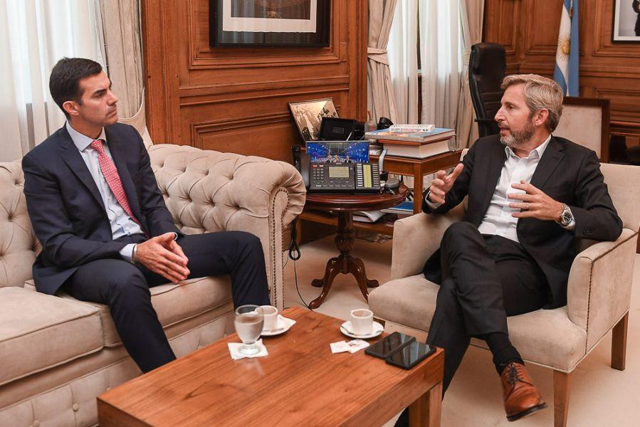 """El gobernador de Salta y el ministro del Interior hablaron sobre el decálogo. """"Es un borrador sobre el cual hay que trabajar"""", sostuvo."""