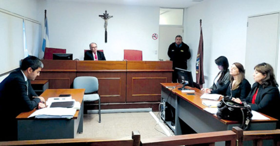Ayer se realizó una audiencia de conciliación.