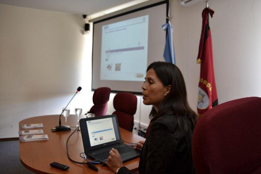 """En promedio se reciben 12 denuncias por días"", sostuvo Patricia Aballay, Coordinadora Informática del Ministerio Público."
