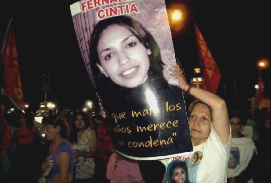 Ana Fernández, madre de Cintia, lleva una lucha de ocho años pidiendo el esclarecimiento de su hija asesinada el 28 de abril de 2011.