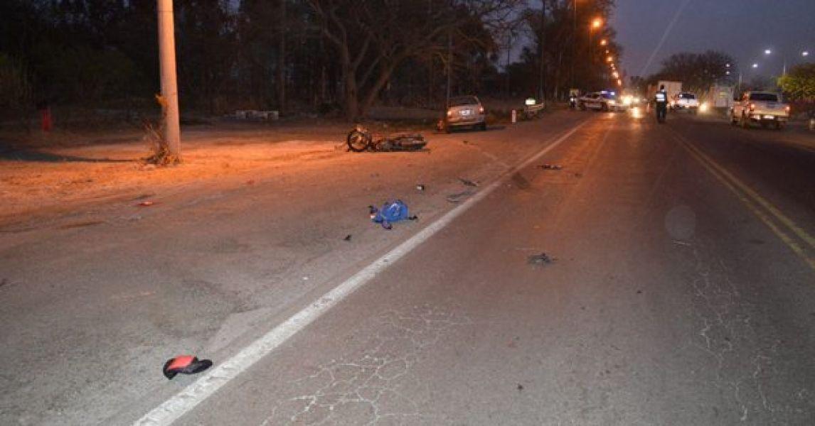 La mujer en estado de ebriedad se cruzó de carril y atropelló al motociclista en septiembre del año pasado.