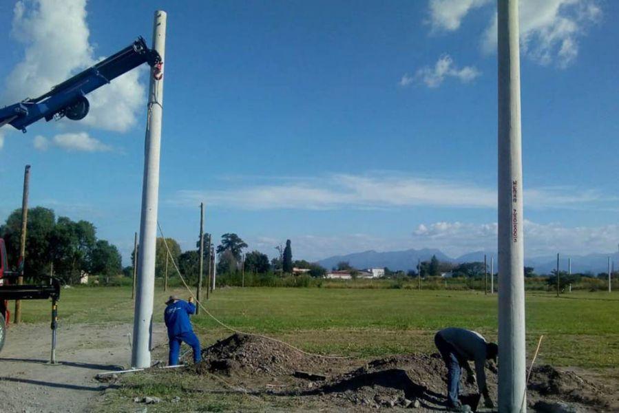 Para la urbanización en un predio de lotes sociales en La Merced el Gobierno de laProvinciainvierte más de $9 millones.