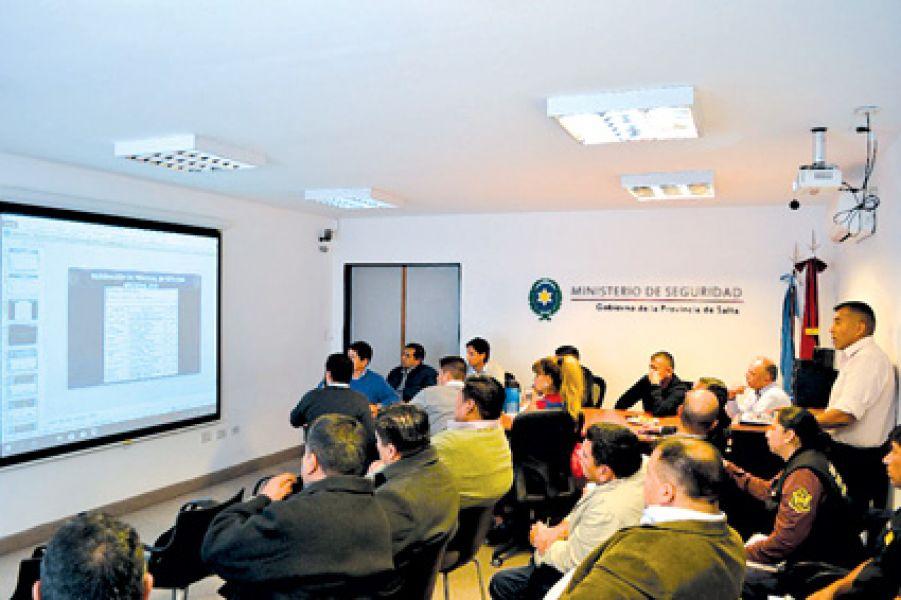 La reunión se llevó a cabo en el Ministerio de Seguridad.