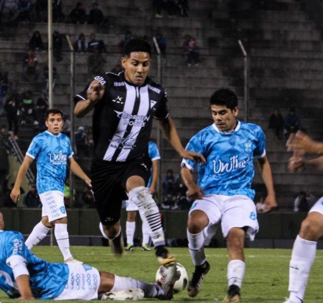 Lucas Quiroz jugó su último partido contra Talleres de Perico.