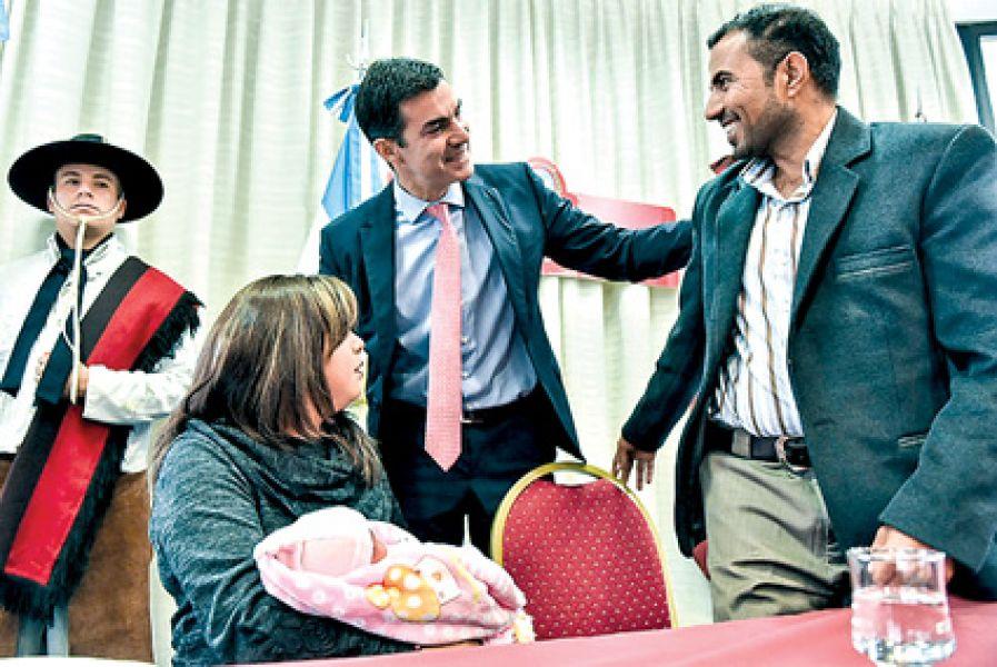 Del acto participó el refugiado sirio Kamel Saied  Al Khlif.