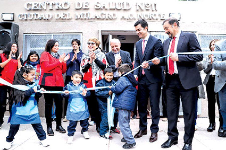 Se inauguraron las obras de refacción y ampliación del Centro de Salud de Ciudad del Milagro.
