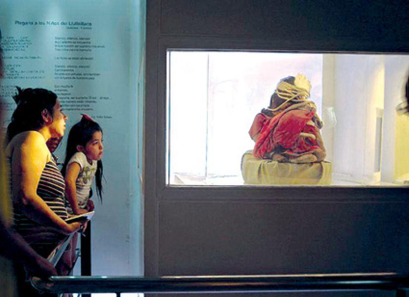 El  Museo Antropológico de Alta Montaña (MAAM) uno de los predilectos por el público.