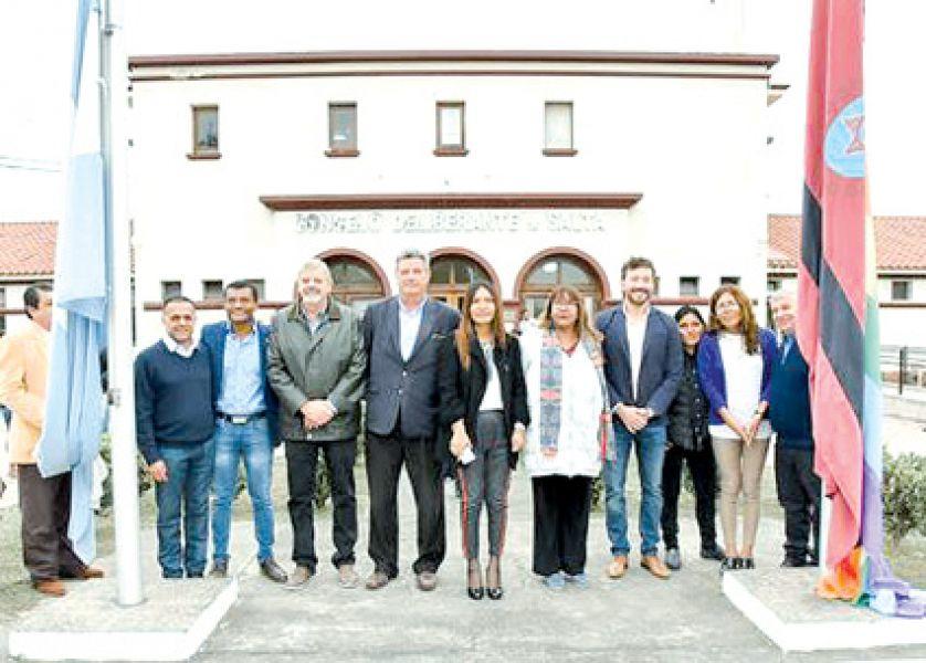 Ceremonia realizada ayer en la sede del Concejo Deliberante capitalino.