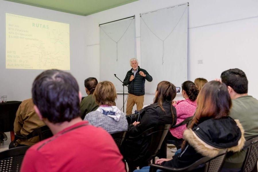 El funcionario nacional Roberto Ulloa, coordinador del Plan Belgrano en Salta, anunció que General Güemes será centro logístico de la provincia.